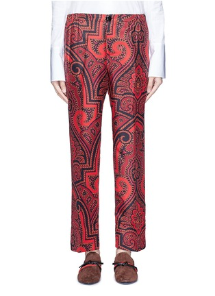Detail View - Click To Enlarge - F.R.S For Restless Sleepers - 'Zeus' paisley print silk pyjama pants