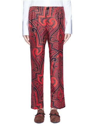 Main View - Click To Enlarge - F.R.S For Restless Sleepers - 'Zeus' paisley print silk pyjama pants