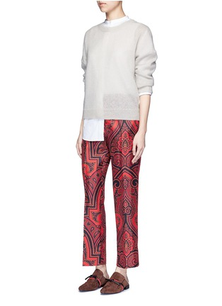 Figure View - Click To Enlarge - F.R.S For Restless Sleepers - 'Zeus' paisley print silk pyjama pants