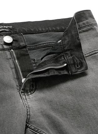 - ALEXANDER MCQUEEN - 渐变水洗棉质牛仔裤