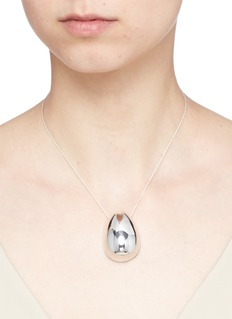 Sophie Buhai 'Egg' pendant sterling silver necklace