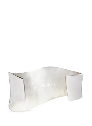 Figure View - Click To Enlarge - Sophie Buhai - 'Wave' sterling silver cuff