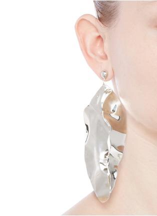 Figure View - Click To Enlarge - Sophie Buhai - 'Wilke' sterling silver earrings
