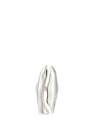 Main View - Click To Enlarge - Sophie Buhai - 'Wilke' slit sterling silver ring