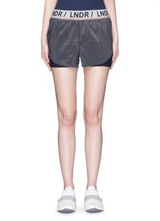 Lndr'Luna' double layer running shorts