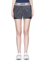 'Luna' double layer running shorts