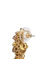 'Swan Lake' Swarovski crystal glass pearl drop earrings