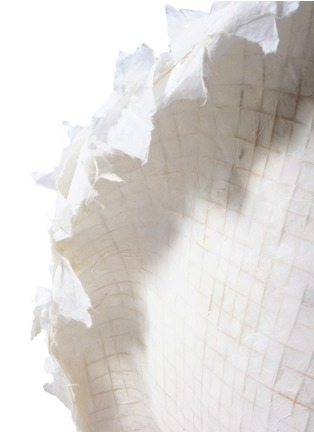 Detail View - Click To Enlarge - Pinwu - Piao limited edition layered rice paper chair