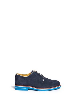 首图 - 点击放大 - ARMANI COLLEZIONI - 真皮拼色系带鞋