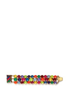 ERICKSON BEAMON'Splash' multi strand crystal bracelet