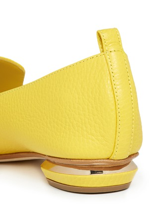 Detail View - Click To Enlarge - Nicholas Kirkwood - Grainy leather loafers