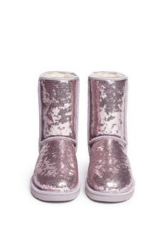 UGG AUSTRALIA'Classic Short Sparkles' sequin boots