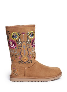 UGG AUSTRALIA 'Juliette' floral embroidery boots