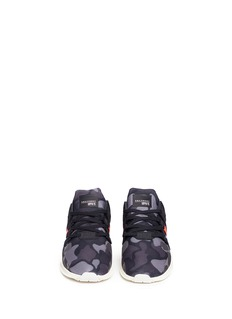 Adidas'EQT Support ADV' camouflage knit kids sneakers
