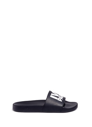 Main View - Click To Enlarge - Ivy Park - Logo rubber slide sandals