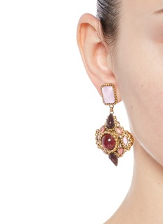 Erickson Beamon 'Hunky Dory' cabochon earrings