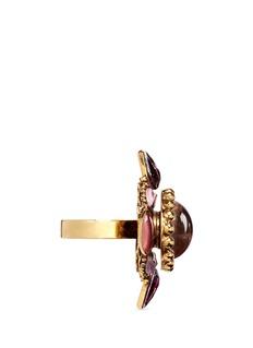 Erickson Beamon'Hunky Dory' cabochon ring