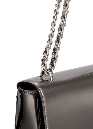 Detail View - Click To Enlarge - Tory Burch - 'Mercer' adjustable metallic leather shoulder bag
