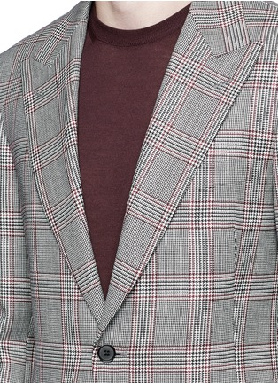 Detail View - Click To Enlarge - Tomorrowland - Dormeuil Sportex Vintage® wool houndstooth blazer