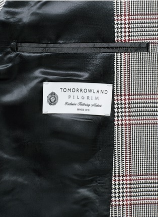 - Tomorrowland - Dormeuil Sportex Vintage® wool houndstooth blazer