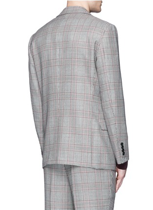Back View - Click To Enlarge - Tomorrowland - Dormeuil Sportex Vintage® wool houndstooth blazer