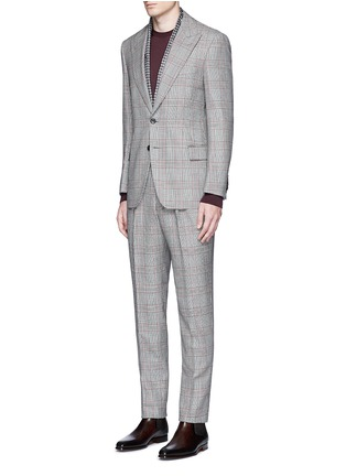 Figure View - Click To Enlarge - Tomorrowland - Dormeuil Sportex Vintage® wool houndstooth blazer