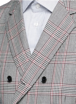 Tomorrowland - Dormeuil Sportex Vintage® wool houndstooth double breasted vest