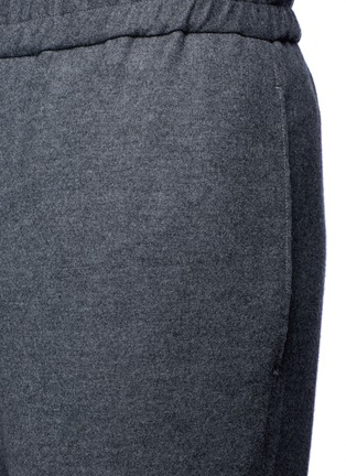 Detail View - Click To Enlarge - Tomorrowland - Drawstring wool felt pants