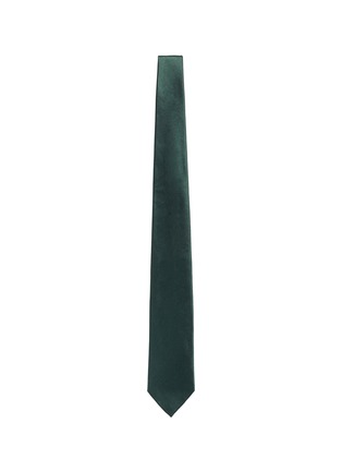 Tomorrowland - Cotton-silk satin tie
