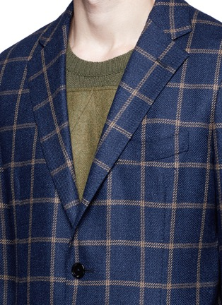 Detail View - Click To Enlarge - Tomorrowland - Loro Piana Dream Tweed® wool soft blazer