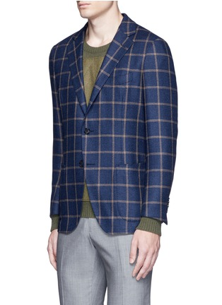 Front View - Click To Enlarge - Tomorrowland - Loro Piana Dream Tweed® wool soft blazer