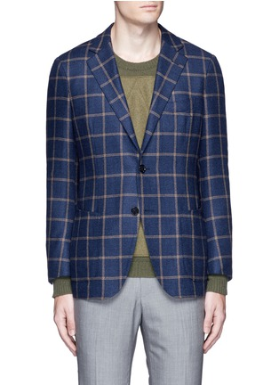 Main View - Click To Enlarge - Tomorrowland - Loro Piana Dream Tweed® wool soft blazer