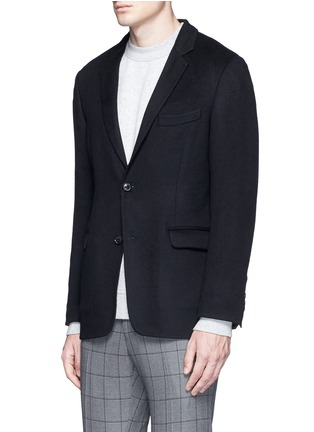 Front View - Click To Enlarge - Tomorrowland - Felted cotton soft blazer