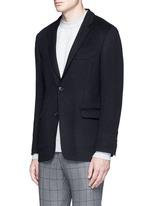 Felted cotton soft blazer