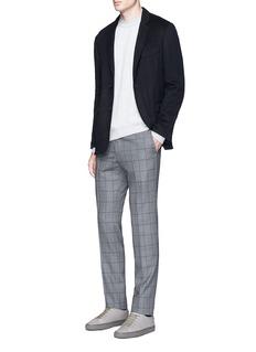TomorrowlandFelted cotton soft blazer