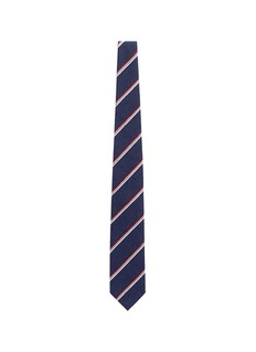 Tomorrowland Stripe silk shantung tie