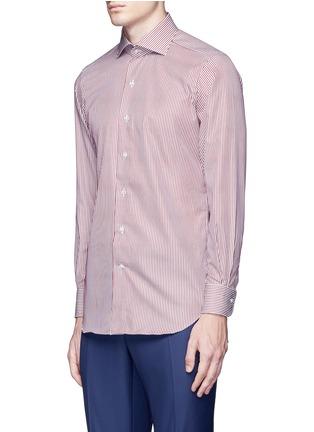 正面 -点击放大 - TOMORROWLAND - 拼色竖纹纯棉衬衫