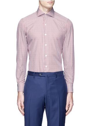 首图 - 点击放大 - TOMORROWLAND - 拼色竖纹纯棉衬衫