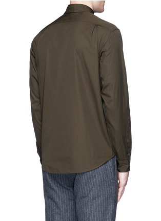 Back View - Click To Enlarge - Tomorrowland - Cotton poplin shirt