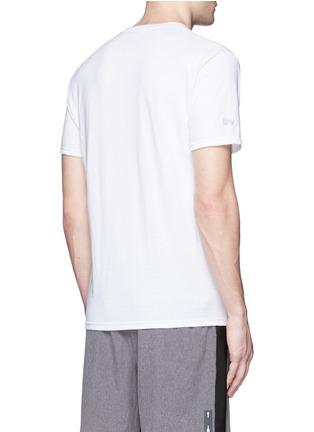Back View - Click To Enlarge - Icny - Reflective logo print T-shirt