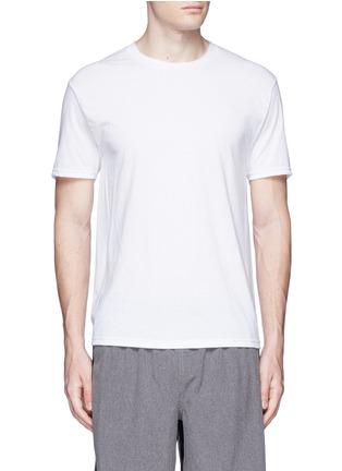 首图 - 点击放大 - ICNY - 反光标识装饰单色T恤