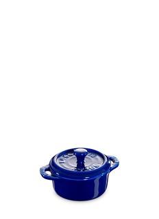 StaubCeramic mini round cocotte