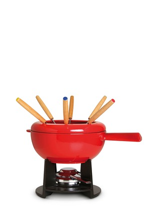 Main View - Click To Enlarge - Staub - Cast iron 20cm fondue set