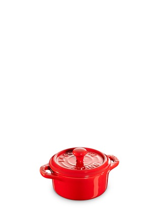 Main View - Click To Enlarge - Staub - Ceramic mini round cocotte