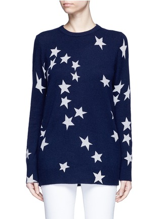 Main View - Click To Enlarge - Equipment - 'Rei' star intarsia cashmere sweater