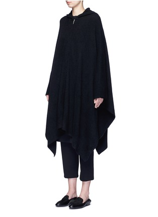 Front View - Click To Enlarge - The Row - 'Asham' hooded cashmere-silk cape