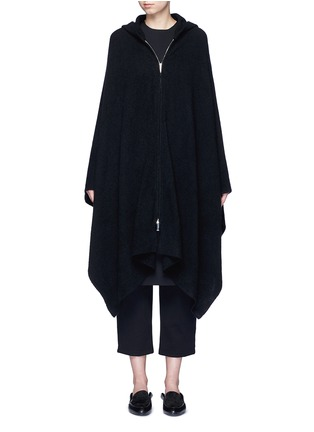 Main View - Click To Enlarge - The Row - 'Asham' hooded cashmere-silk cape