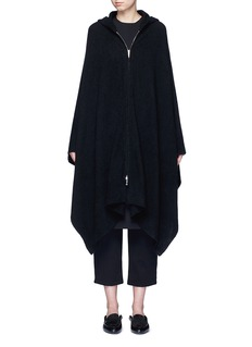 The Row 'Asham' hooded cashmere-silk cape