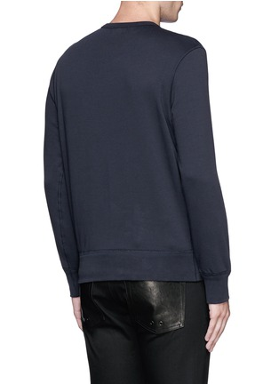 Back View - Click To Enlarge - Alexander McQueen - Skull embroidery sweatshirt