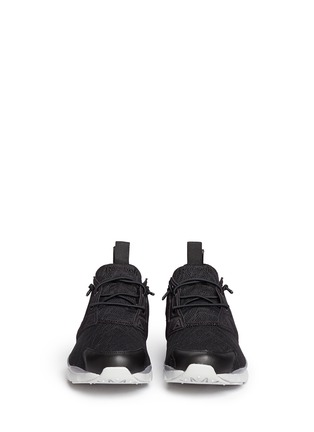 Figure View - Click To Enlarge - Reebok - 'FuryLite TM' diamond mesh sneakers